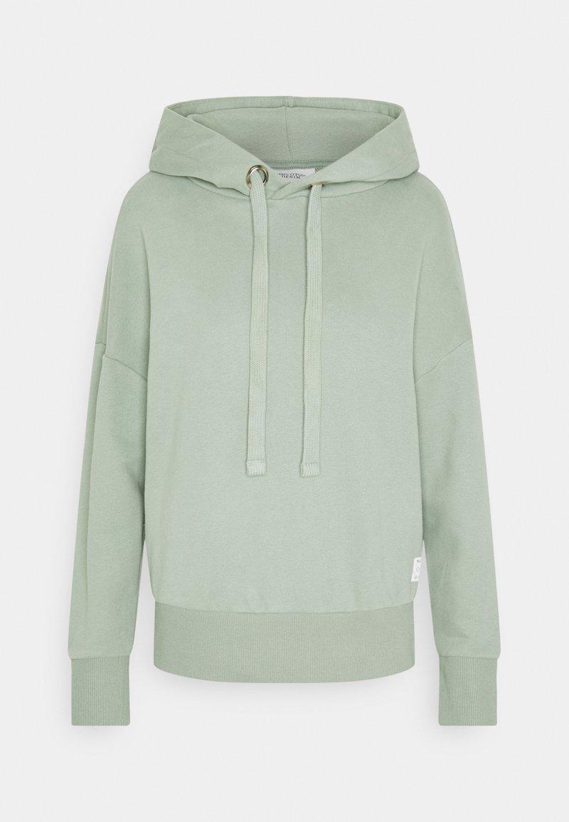 Marc O'Polo DENIM - LONGSLEEVE HOODED - Sweatshirt - washed mint