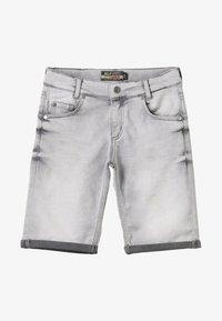 Blue Effect - BOYS BASIC - Denim shorts - grey medium - 4