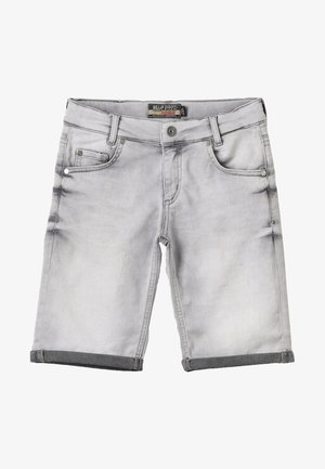 BOYS BASIC - Denim shorts - grey medium