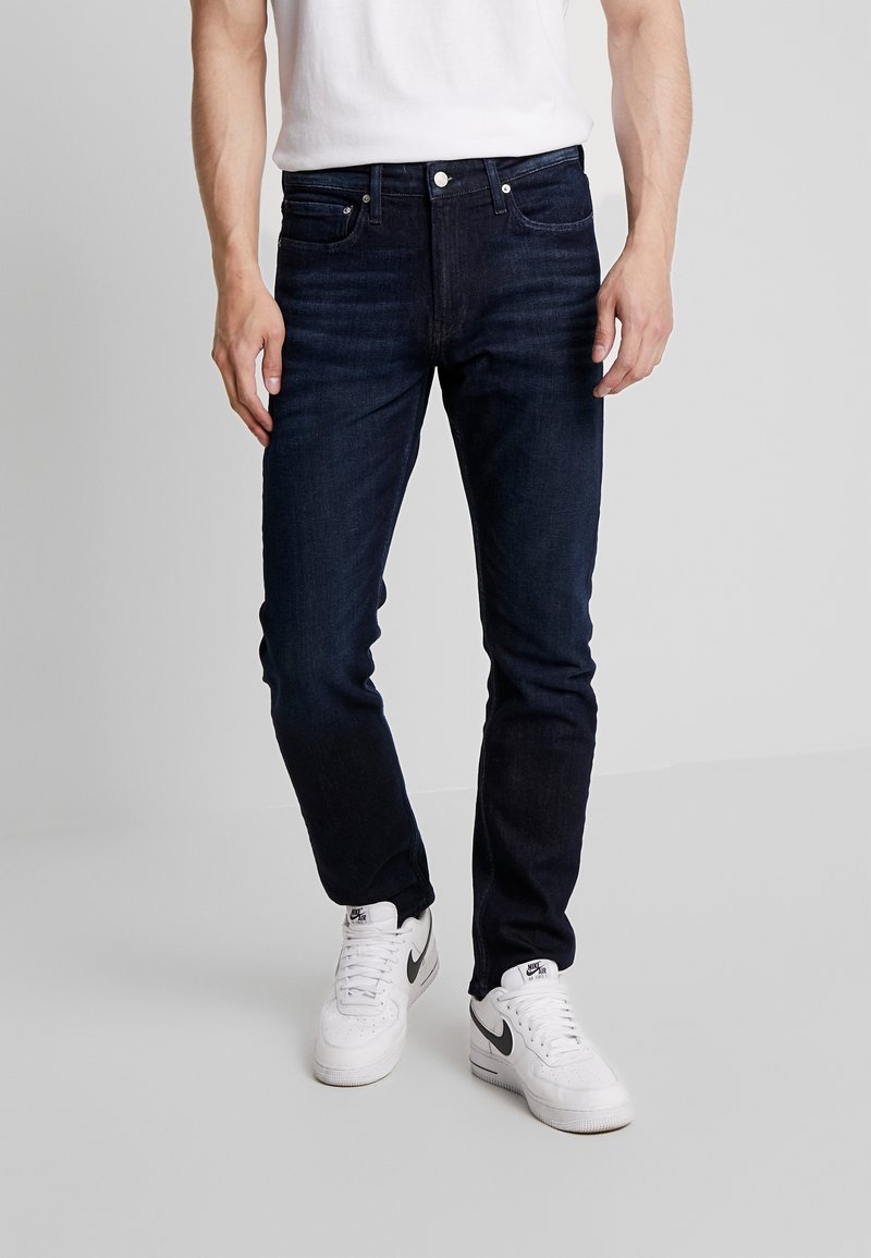 Calvin Klein Jeans - CKJ 026 SLIM - Džíny Slim Fit - dark blue