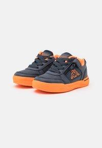 Kappa - UNISEX - Sports shoes - navy/orange - 1