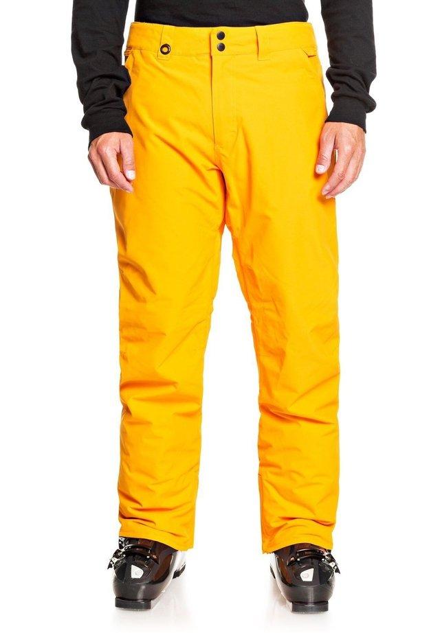 ESTATE - Snow pants - flame orange