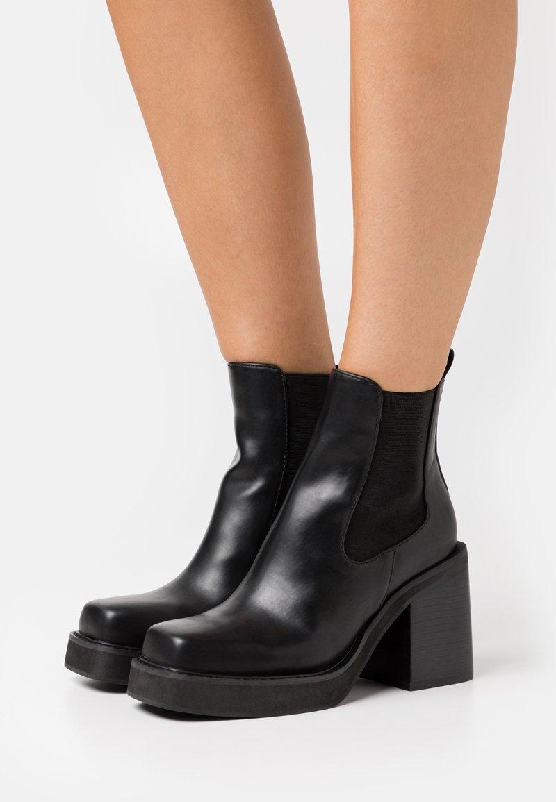 Tata Italia - Platform ankle boots - black