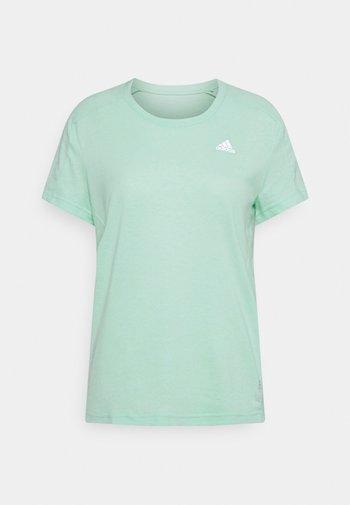 OWN THE RUN TEE - T-shirts med print - mint