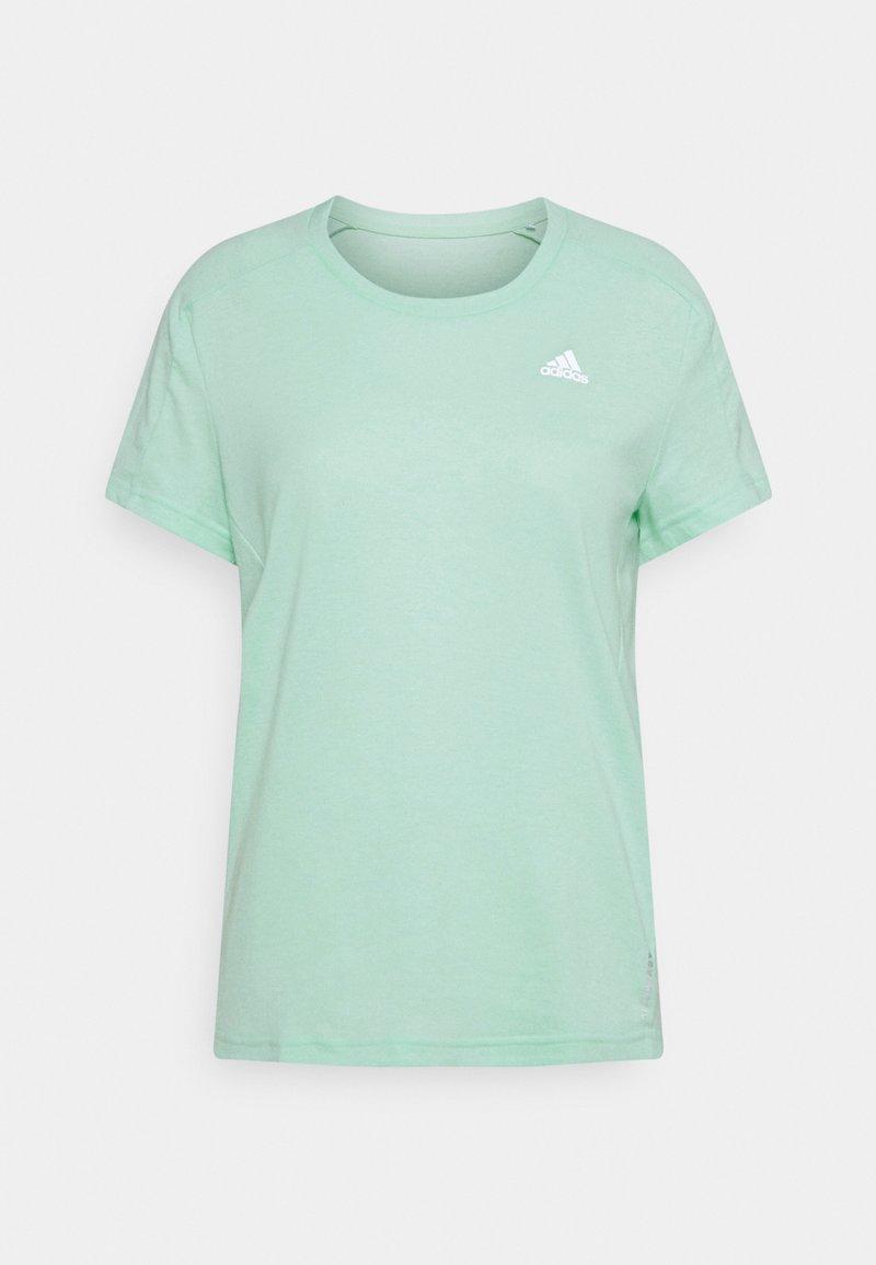 adidas Performance - OWN THE RUN TEE - T-shirts med print - mint
