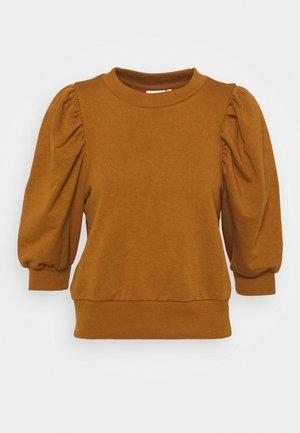 ONLBALOU LIFE ONECK - Basic T-shirt - rubber