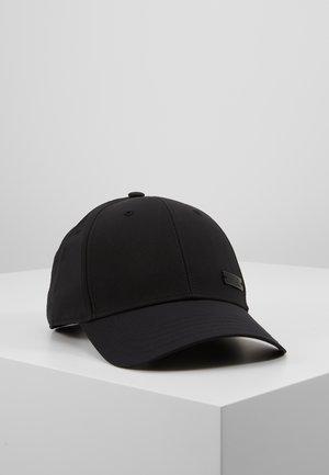 BBALLCAP LT MET - Caps - black/black/black