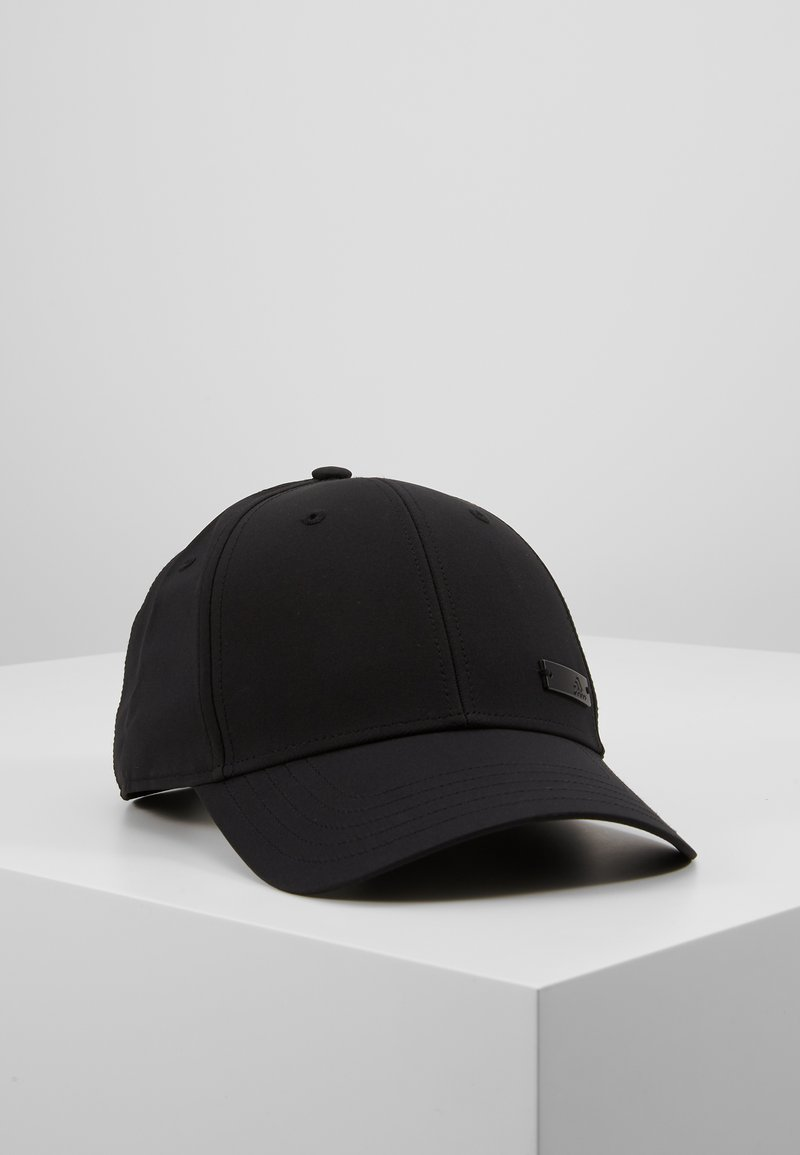adidas Performance - BBALLCAP LT MET - Kšiltovka - black/black/black