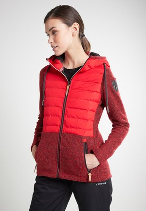 MIDLAYER TORSTAI CAROUGE - Fleece jacket - rot
