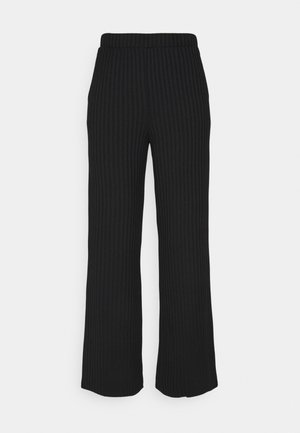 JDYALETTE WIDE LOUNGE PANT - Trousers - black