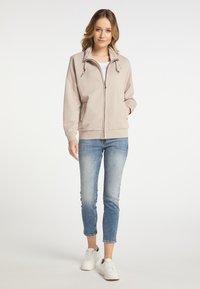 DreiMaster - Zip-up hoodie - beige - 1