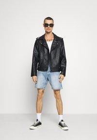 Redefined Rebel - RAUL JACKET - Faux leather jacket - black - 1