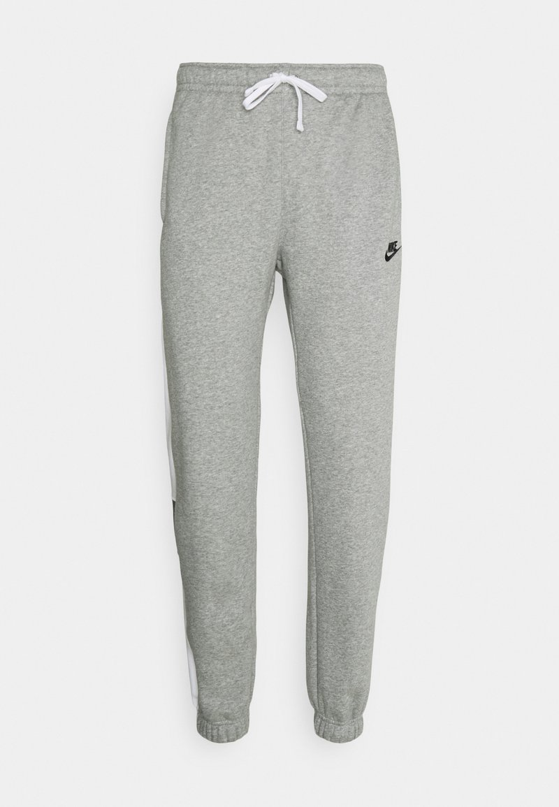 Nike Sportswear - Tracksuit bottoms - dark grey heather/white/charcoal heather/black