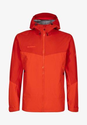 CONVEY TOUR HOODED JACKET MEN - Hardshell jacket - red