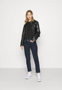 Tommy Jeans - SHORTSLEEVE TAPE - Print T-shirt - black - 1