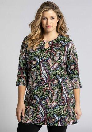 Long sleeved top - multicolor schwarz