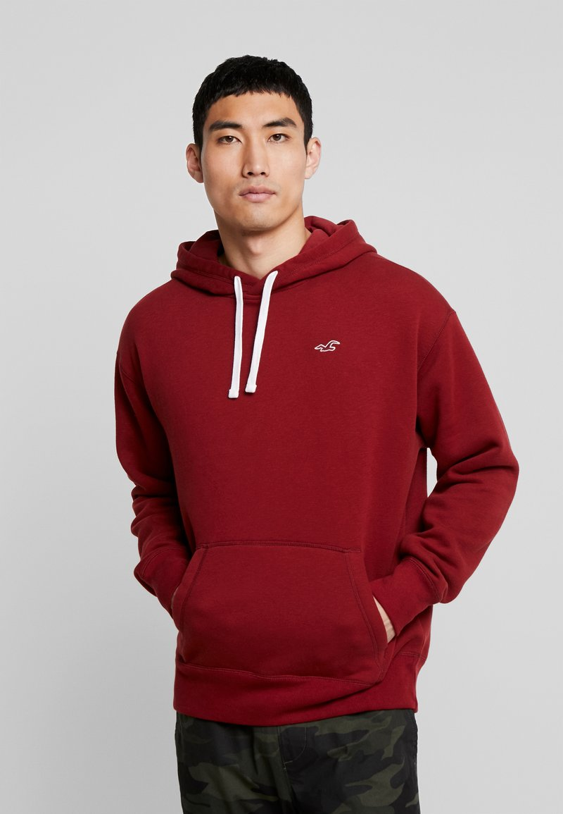 Hollister Co. - ICON PO  - Hoodie - burgundy