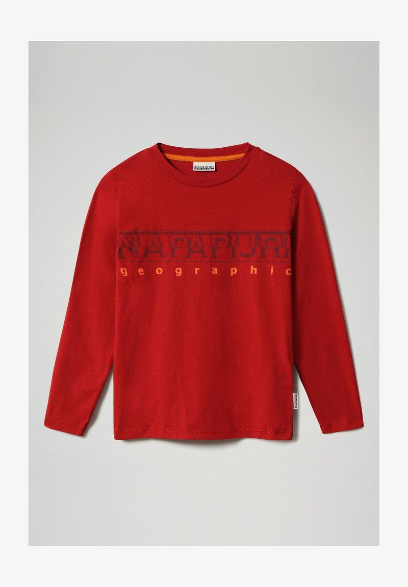 Napapijri - SADYR LS - Long sleeved top - old red