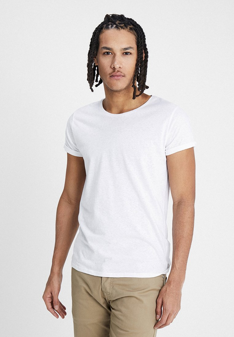 Resteröds - JIMMY  - T-shirt - bas - white