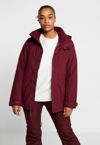 Burton - JET SET - Snowboardová bunda - sangria - 0