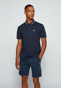 BOSS - PADDY PIXEL - Polo shirt - dark blue - 0