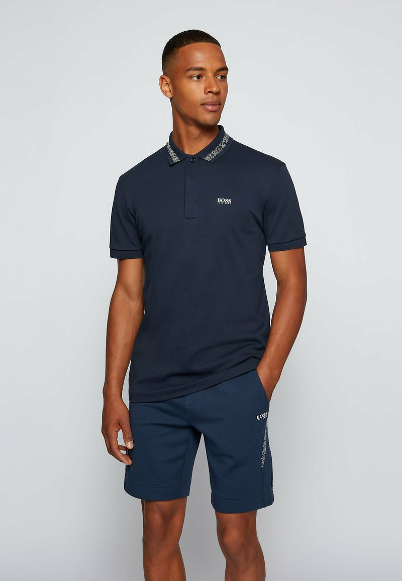 BOSS - PADDY PIXEL - Polo shirt - dark blue
