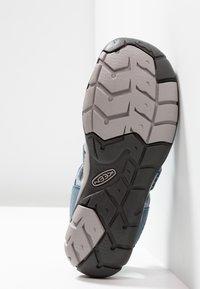 Keen - CLEARWATER CNX - Walking sandals - blue mirage/citadel - 4