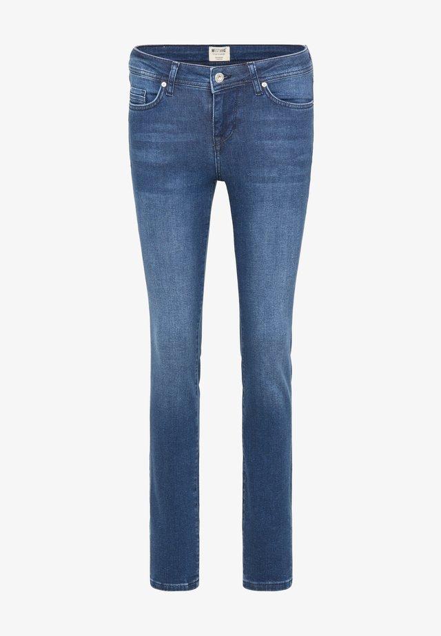 HOSE JASMIN - Slim fit jeans - blau