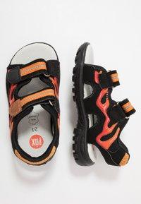 Pax - FIREFLY - Walking sandals - black - 0