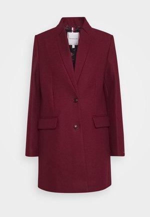 COAT - Classic coat - deep rouge