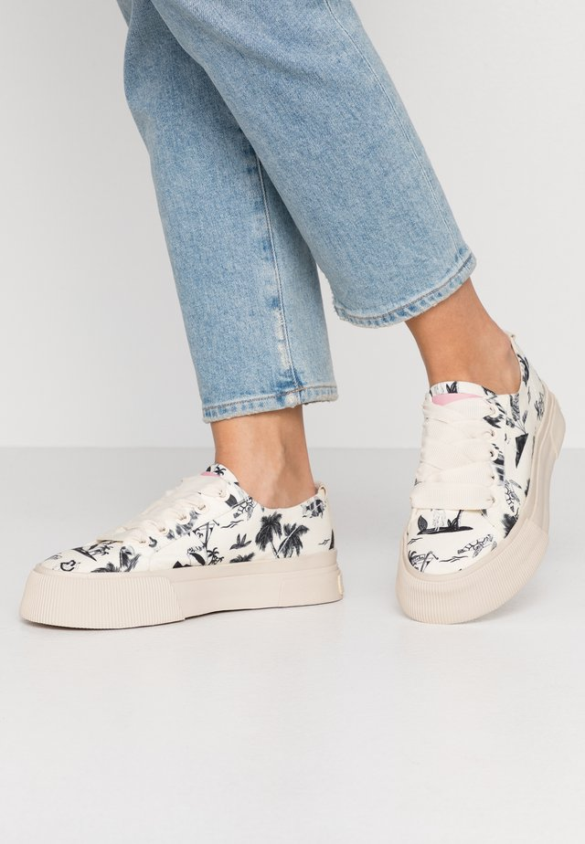 ZADIE LACE SHOES - Sneakers laag - black/white