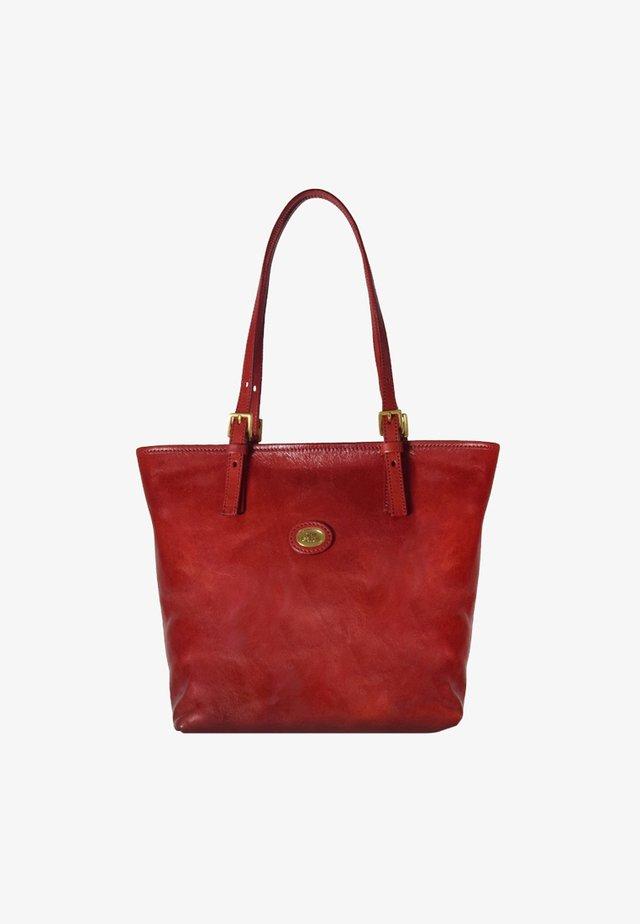 STORY DONNA  - Handbag - rosso ribes