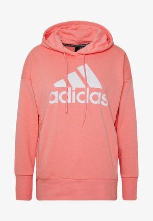 LONG - Hoodie - pink/white