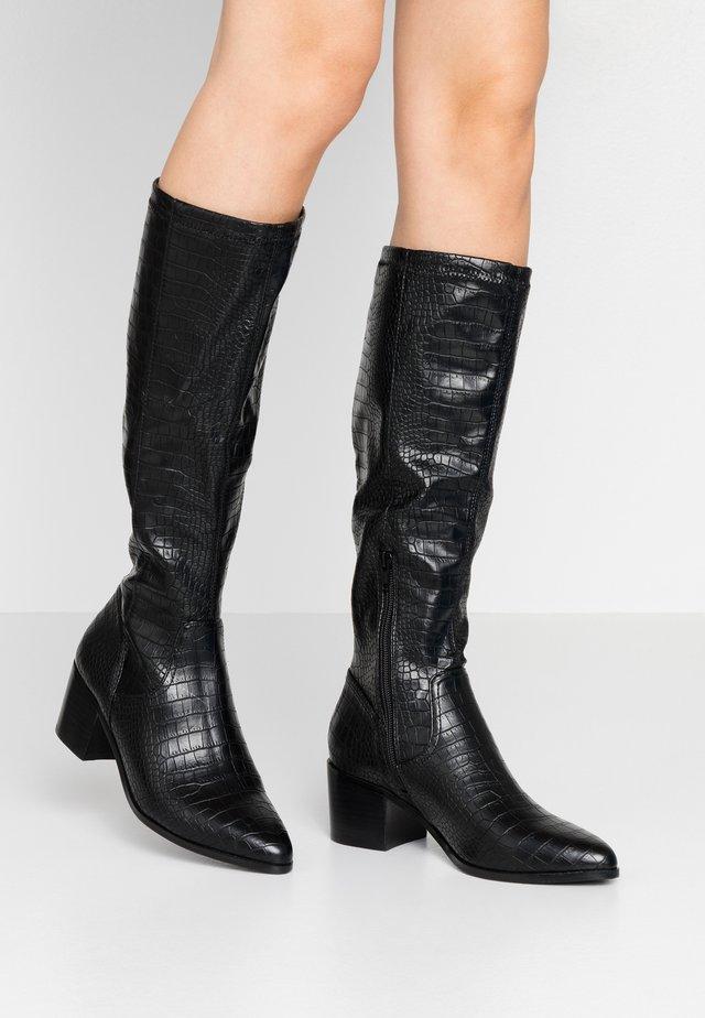 BIAABBIE LONG BOOT - Høje støvler/ Støvler - black