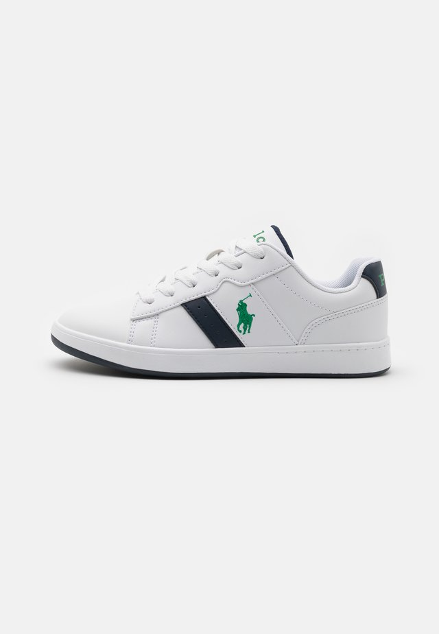 OAKVIEW UNISEX - Trainers - white smooth/navy/green