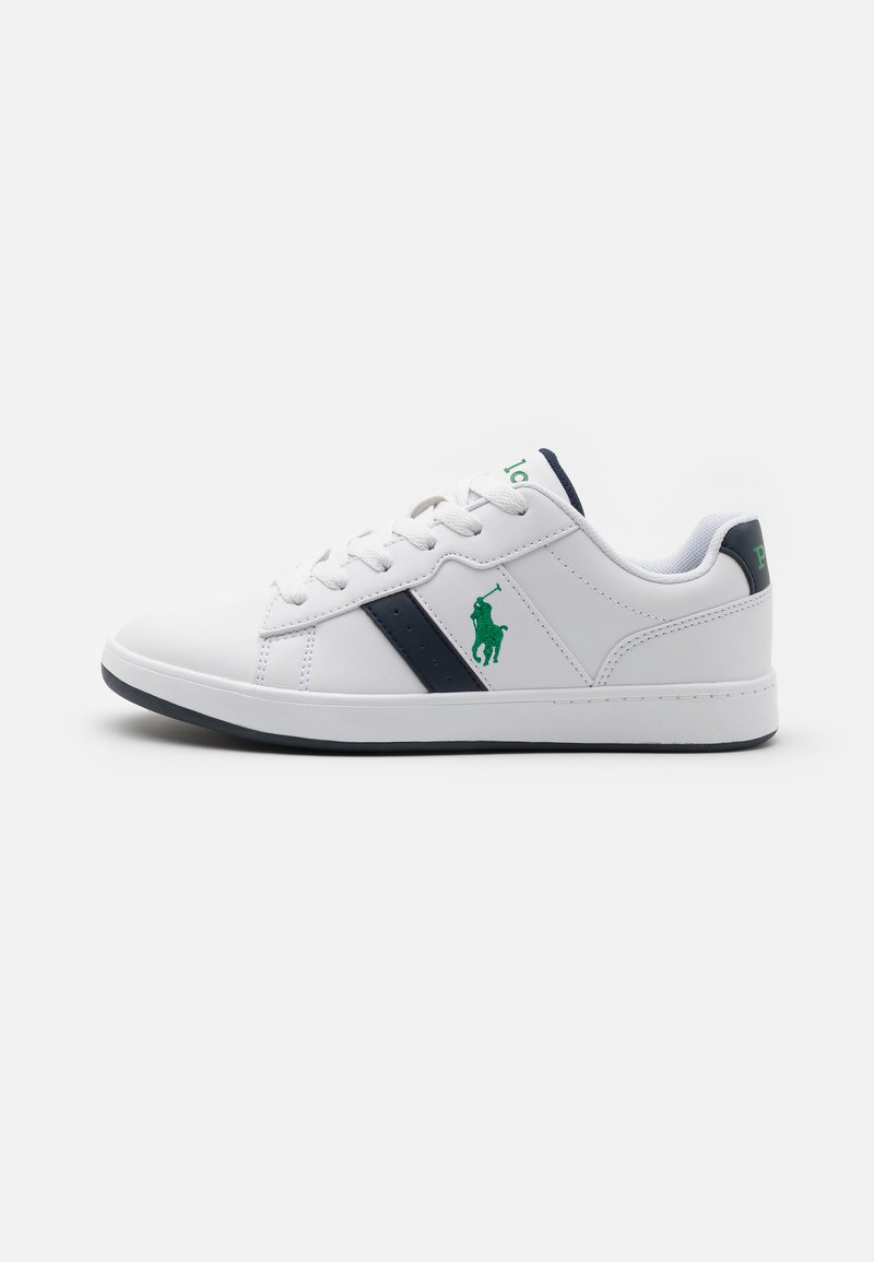 Polo Ralph Lauren - OAKVIEW UNISEX - Sneakers - white smooth/navy/green