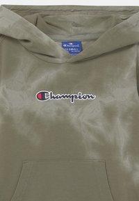 Champion Rochester - COLOR SPLASH HOODED UNISEX - Sweat à capuche zippé - khaki - 2