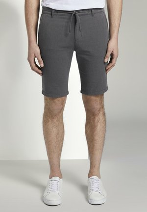 Chinos - two colored black design
