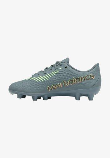 Moulded stud football boots - thunder/bleachedlimeglo
