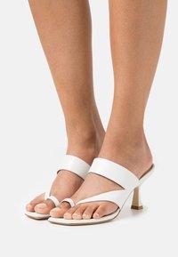 Stuart Weitzman - LYLA  - T-bar sandals - white - 0