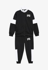 Puma - REBEL SUIT - Tracksuit - puma black - 4