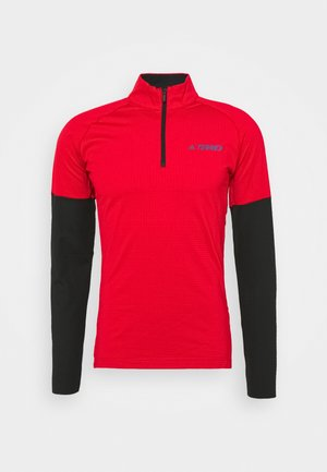 TECHNICAL AEROREADY X-COUNTRY SKIING - Sports shirt - scarle/black