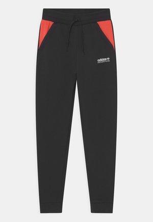 UNISEX - Verryttelyhousut - black/bright red