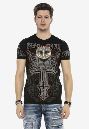 KING SKULL - Print T-shirt - schwarz