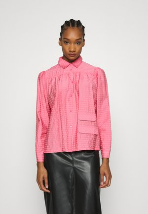 ADRINA - Button-down blouse - bubblegum