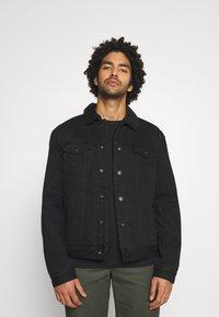 AllSaints - ALDER JACKET - Denim jacket - black - 0