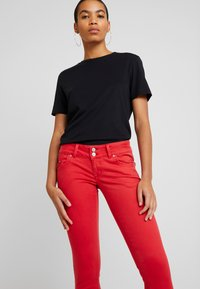 LTB - MOLLY - Jeans Skinny Fit - barbados cherry - 3