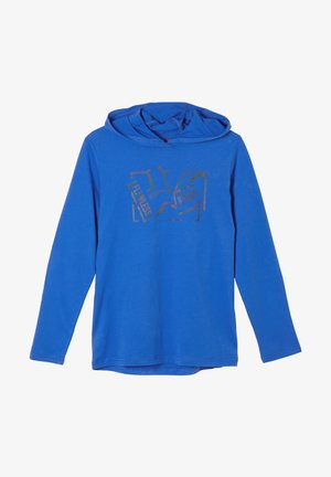 MIT FRONTPRINT - Long sleeved top - blue