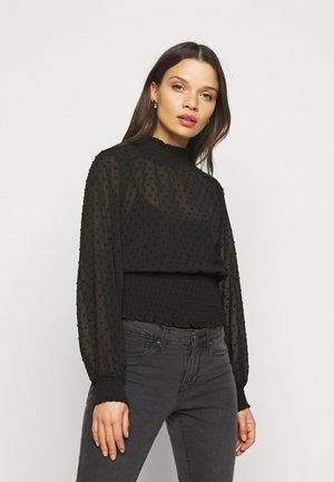 OBJGRETA - Long sleeved top - black