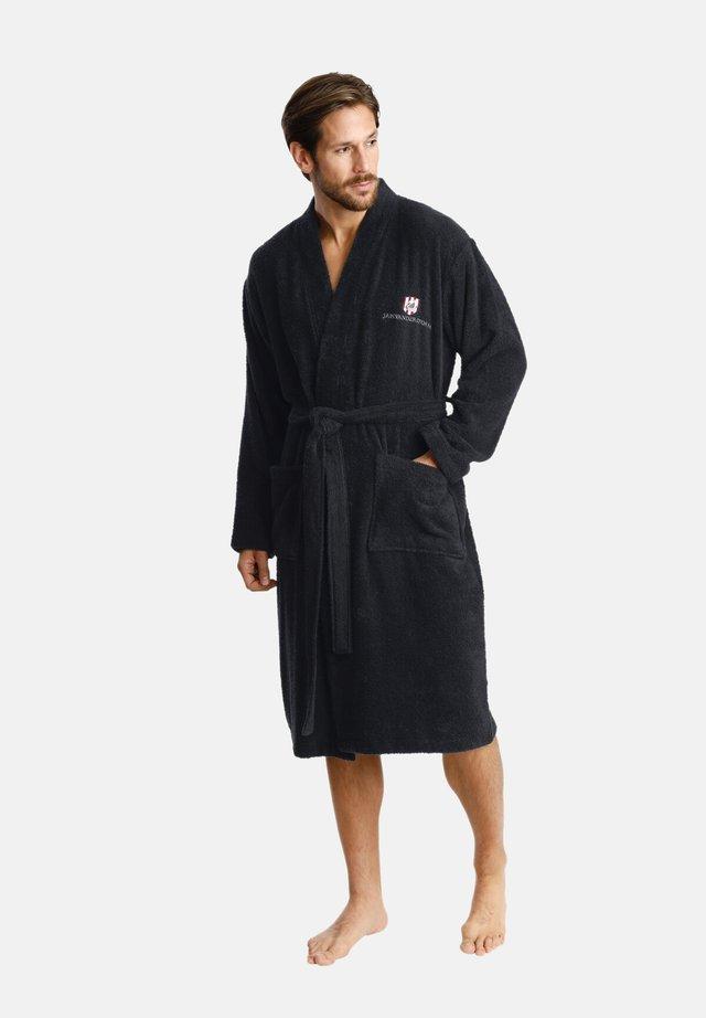 JANNING - Dressing gown - black
